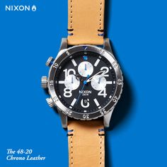The 48-20 Chrono Leather, featured in the new, team-curated Father's Day Gift Guide.