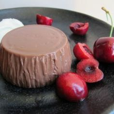Chocolate Blancmange