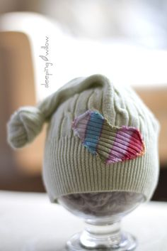 Allie, I like the fabric heart on this one. It would be cute if it was put on one of your hats.