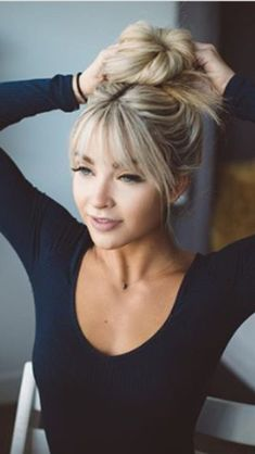 10 super ideas for full fringe hairstyles just for you, # for ., 10 great ideas for full fringe hairstyles just for you, # for Full Fringe Hairstyles, Short Bob Hairstyles, Trendy Hairstyles, Beautiful Hairstyles, Black Hairstyles, Haircut Short, Short Bob Bangs, Short Hairstyles With Bangs, Bang Haircuts