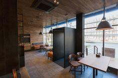 The Village restaurant interior design