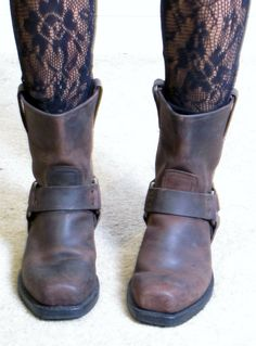 Cute little cowboy ankle boot! Womens Liberty Black Delano Cowgirl