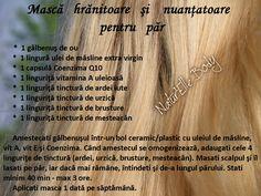 Mască hrănitoare şi nuanţatoare pentru păr Hair Beauty, Hairstyle, Skin Care, Mirror, Health, Tips, Hair Job, Hair Style, Health Care
