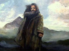 Hagrid of Harry Potter by LevonHackensaw on DeviantArt Harry Potter Fan Art, Harry Potter Characters, Fictional Characters, Hagrids Hut, Rubeus Hagrid, Rowling Harry Potter, Witchcraft, Light In The Dark, Hogwarts