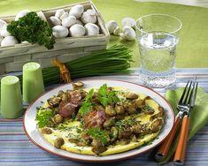 Champignon-Eier-Pfannkuchen Rezept | LECKER Tacos, Mexican, Ethnic Recipes, Food, Pancake, Popular Recipes, Milk, Egg, Food Food