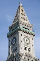 Custom House Tower, owned by Marriott Custom House now - visit observation deck for great view of city.