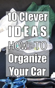 If you have kids, you know that the car can take a serious hit when it comes to driving them back and forth between school, sports and activities. Check out these tips to make sure your car stays organized! Organization Station, Organization Hacks, Organizing Ideas, How To Clean Headlights, Car Cleaning Hacks, Cleaning Products, Car Fix, Making Life Easier, Family Organizer