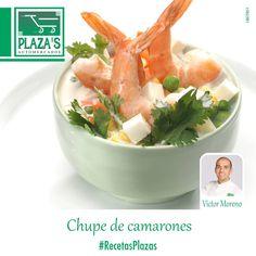 Chupe de Camarones Chf. Victor Moreno  Ingred:    1kg de camarones  1 lt de caldo de pescado... Ver más   https://www.facebook.com/elplazas/photos/a.379922065412739.85517.145157952222486/1077411015663837/?type=3&theater