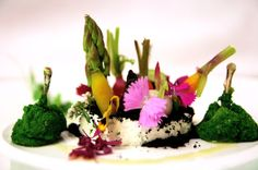 Grenouilles-petitslegumes by Michelin-starred Chef Richard Toix is a dish that will set your heart aflutter #Lyon @ MO Jakarta