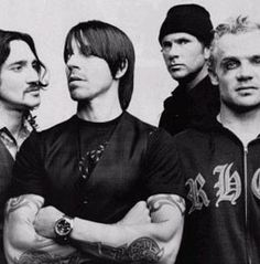 Red Hot Chili Peppers groove-is-in-the-heart