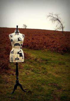 Petit Francais Mannequin Dressform Display by CorsetLacedMannequin, £190.00
