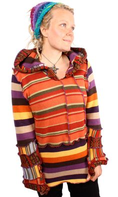 Tall girls rejoice! Brienne of Tarth is here to kick ass. This is a long stripey sweater full of nobility and grace.