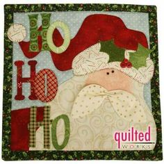 New Patchwork Quilt Navidad Papa Noel 67 Ideas Christmas Patchwork, Christmas Applique, Christmas Sewing, Christmas Projects, Holiday Crafts, Christmas Quilting, Purple Christmas, Coastal Christmas, Modern Christmas