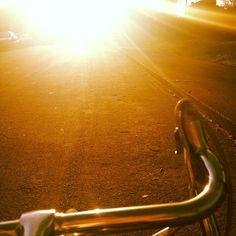 Bike rides and sunshine