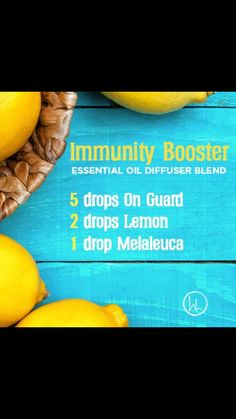 Immunity diffuser blend