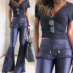 3a8fd002b Calça em cirre inspired Andrea Bogosian Mannustore Fashion!!!🛍❤👗💖 Código