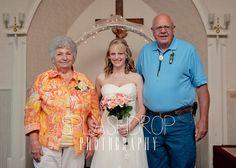 Bride and her Grandparents <3 #splashdropphotography