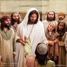 """Love is the way of the disciple."" - Dieter F. Uchtdorf Read the full message here: https://www.lds.org/general-conference/2009/10/the-love-of-god?lang=eng #sweeptheearth #sharegoodness #LDSConf #mormon #LDS #love #God #disciple"