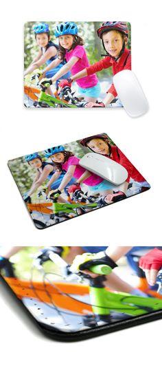 Desde 9,95€ Diseña tu alfombrilla personalizada con foto para el ratón. Gran calidad de impresión y lavable.   #alfombrilla #mousepad #alfombrillaraton #mousepadconfoto #informatica