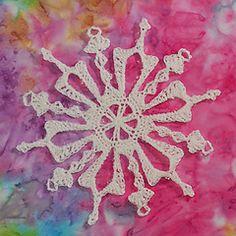 Ravelry: Red Mug Snowflake pattern by Deborah Atkinson