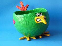 Vogel van papier-maché