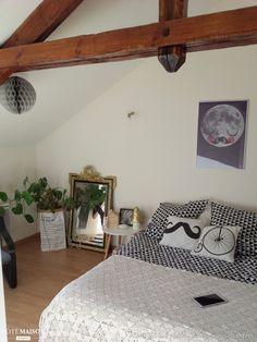 Notre chambre d'inspiration Scandinave, Nantes - Côté Maison
