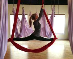 Trying this ASAP! http://launchawareness.com/classes-rates/aerial-yoga-class-descriptions/