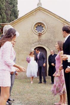 Abito nero per matrimonio sagrado