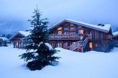 Un chalet tradi en pin brut - Chic et confort pour un chalet à Chamonix - CôtéMaison.fr