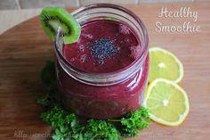 batido de fruta y verdura smoothie