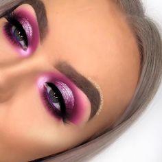 36 Ideas for birthday makeup pink glitter makeup looks 36 Ideas for birthday makeup pink glitter Makeup Eye Looks, Eye Makeup Art, Pink Makeup, Eye Makeup Tips, Eyeshadow Makeup, Eyeshadow Palette, Eyeshadow Ideas, Makeup Ideas, Makeup Tutorials