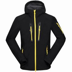 ba63c345a2 Men Winter Inside Fleece Softshell Hiking Jackets Outdoor Thermal Brand Clothing  Waterproof Camping Male Skiing Coats
