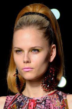 #SS13 PPQ love 60's inspired #hair & #makeup
