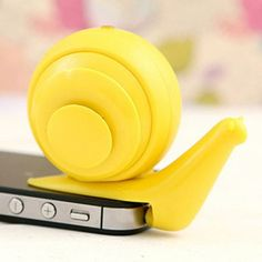Mini Snail Mobile Phone Speaker Universal 3.5mm Jack for Samsung S6 HTC ONE M9 iPhone iPad MP3 MP4 Mobile Phone Computers