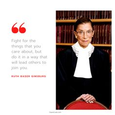 Famous Women Quotes, Inspirational Quotes For Women, Strong Women Quotes, Leader Quotes, Leadership Quotes, Ruth Badger, Ruth Bader Ginsburg Quotes, Empowered Women, Senior Quotes