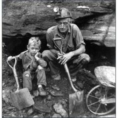 west virginia mines | Coal mining vintage photo