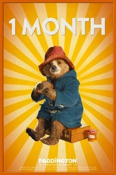 Paddington lands in the U.S. in one month! Are you going to be in theaters on January 16?
