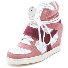 Ash Cool Wedge Sneakers ($175) ❤ liked on Polyvore
