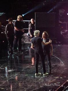 Eddie Vedder and Roger Waters