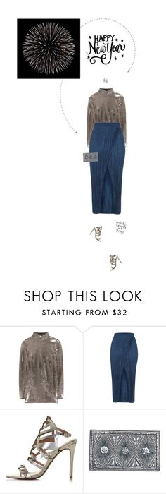 """""""Happy New Year! Best Wishes for 2017. 😊❤"""" by xabbielou ❤ liked on Polyvore featuring Tom Ford, Topshop, Balmain, Carolee and GET LOST"""