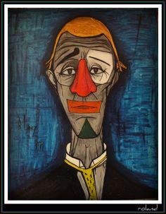 Buffet: Sad clown