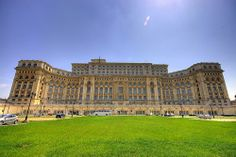 Palace of the Parliament Dealul Arsenalului Bucharest Romania Palace Of The Parliament, Bucharest Romania, Famous Places, Central Europe, Black Sea, World Records, Continents, Worlds Largest, Romania