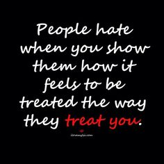 Can't stand when people do the wrong thing...but yet they want to be treated with respect...Oh well...Some people are just PIGS!!!