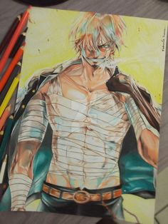 Sanji / One Piece ( Rereading ) by Robert-Sennin.deviantart.com on @DeviantArt