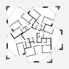 Atelier Scheidegger Keller - scheideggerkeller.ch In Plan, How To Plan, Architecture Plan, House Plans, Villa, Floor Plans, Flooring, Inspiration, Building