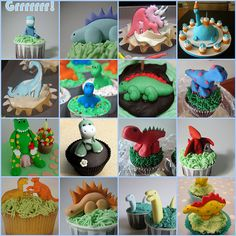 Dinosaur Cupcakes | Flickr - Photo Sharing!