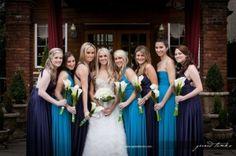 More beautiful bridesmaids...