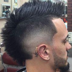 Low Faded Mohawk Haircut