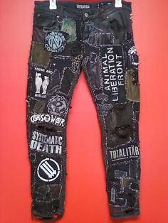 SWAMPUNX - ANIMAL LIBERATION FRONT • CRUST PANTS (front)