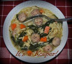 Italian Wedding Soup ~ It's a Keeper